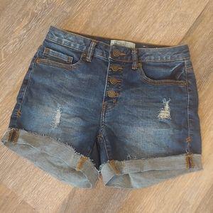 Mudd FLX Stretch Jean Shorts